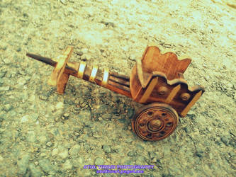 Indian Style Bullock Cart by shutterpunch