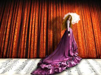 Curtain Call 4000 PAGEVIEWS by celloismistic