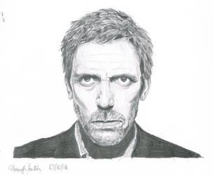 Hugh Laurie by celloismistic