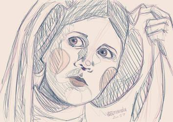 Princess Leia by Begominola