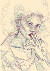 Grease Sketch by Begominola