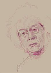 Ollivander Sketch by Begominola