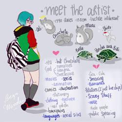 Meet The Artist by Begominola