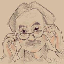 Jiro Taniguchi by Begominola
