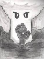 Death Battle: Epic Mushroosion by F-T-Bing-lin