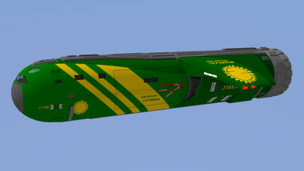 30ton Slow Boat - Cargo Configuration by riftroamer