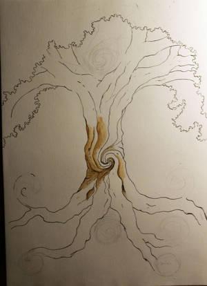 Yggdrasil by Ushiab