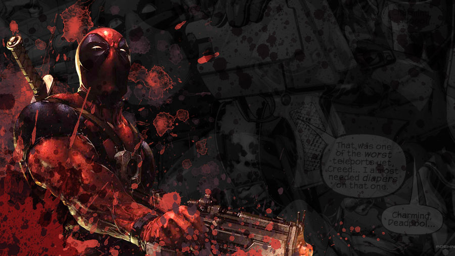 Deadpool Wallpaper By Foehngfx On Deviantart