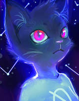 Night in the woods - Mae by lilibombe