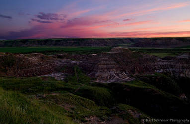 Horse Thief Canyon Sunset by KSPhotographic