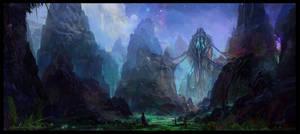 Alien Pod Nest by MaxiimusT
