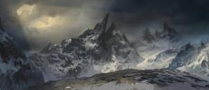 Sharp Mountain by MaxiimusT