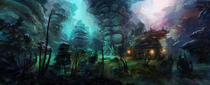 Mystical Forest by MaxiimusT