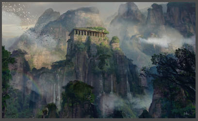 The Temple by MaxiimusT