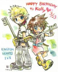 Kingdom Hearts by chihiko