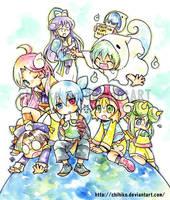 Primp school mates by chihiko