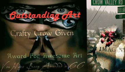 cRAFTY Crow by Caddman by caddman
