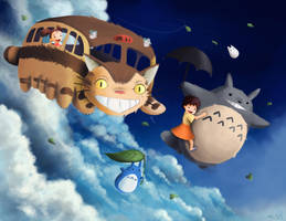 Totoro by Shubaobao