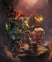 Goblin Dynamite Punch by Scorbutman