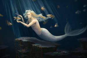 Ocean Angel by Huyen-n00b