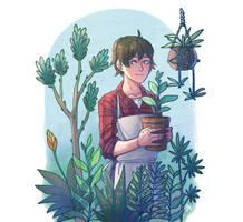 Garden Boy by kos-tyan