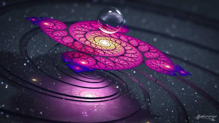 Platinum Galaxy by AHarre