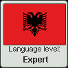 Albanian language level  Expert by Cordisiolol