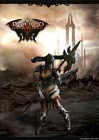 Female Barbarian Diablo by envoysoldiercosplay