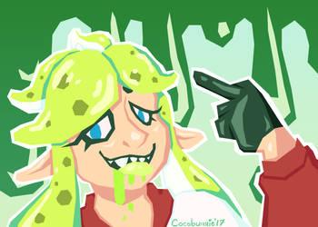 Artfight: Get Splat by cocobunnie