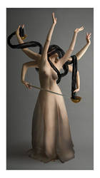 Lady Justice by kittiquin