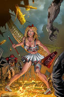 Zombies vs Cheerleaders 2cover by JasonMetcalf