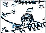 Bran's fall-daily doodle 1 by KouNaraishi