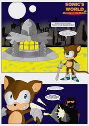 Monkey in the Middle (page 1) by MysticM
