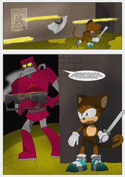 Monkey in the Middle (page 2) by MysticM