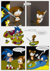 Monkey in the Middle (page 3) by MysticM