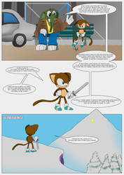 Monkey in the Middle (page 6) by MysticM