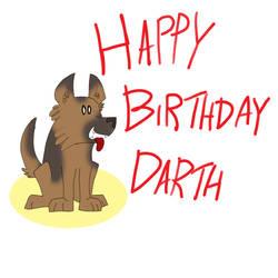 Happy Birthday DarthPeppy by MysticM