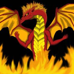 Fire Dragon by SzEszter96