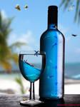 Sea Life in the Bottle by hiaamir