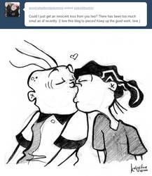 Innocent Kiss by AskEddnEddy