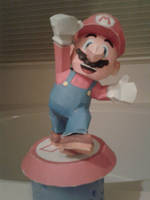 Mario Papercraft by Amber2002161