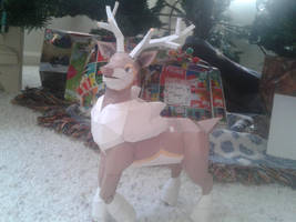 Christmas Sawsbuck by Amber2002161