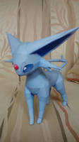Espeon papercraft by Amber2002161