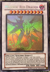 Ghost Rare Majestic Red Dragon by Amber2002161