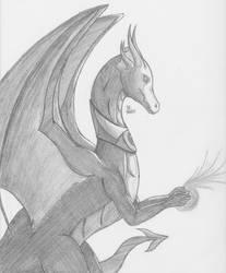 WindWing - Xayldar's Dragon by Scattercloak
