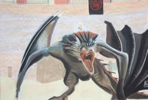 Daenerys et Drogon 2 by Ardia999