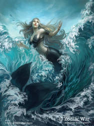 Zodiac Wars Pisces by pearl-of-light