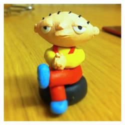 Stewie Griffin by jaggedpixel