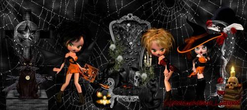 Facebook Cover  Medi Halloween by XxNachtblut-LadyxX