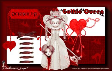 gothic queen by XxNachtblut-LadyxX